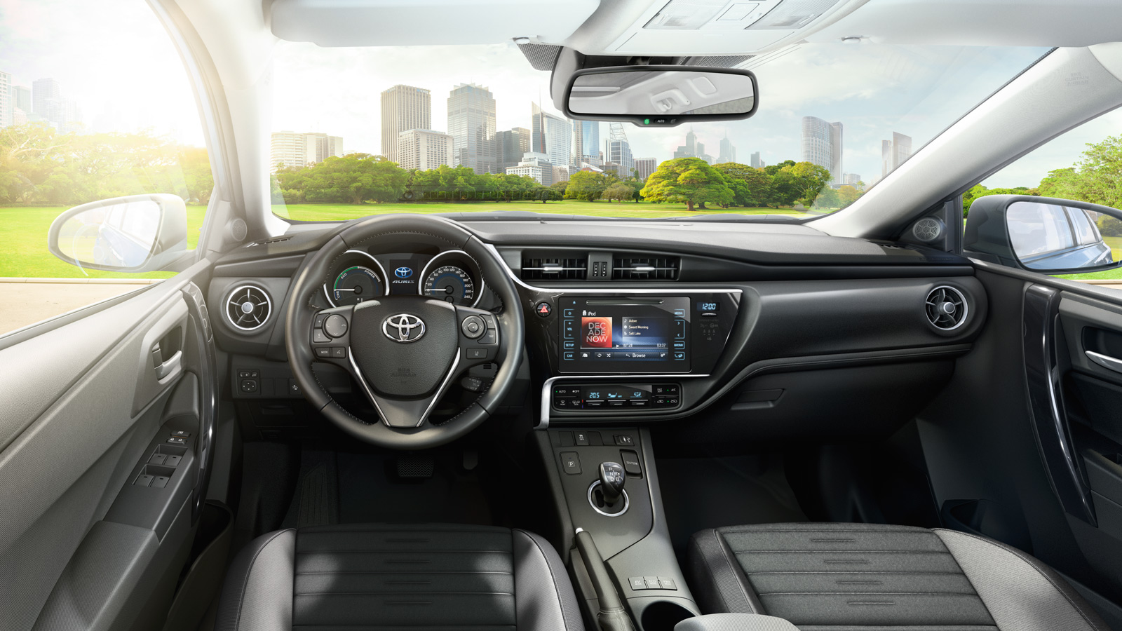 Toyota auris garage e mattm ller ag for Interieur yaris 2015